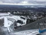 Tremplin de saut à ski